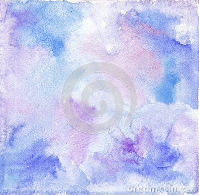 Watercolor Blue Purple Background Texture Colourful Background