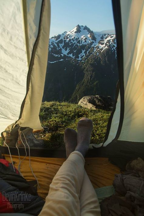 Alaska Camping View