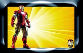 Iron Man Invitaciones Para Imprimir Gratis Invitaciones