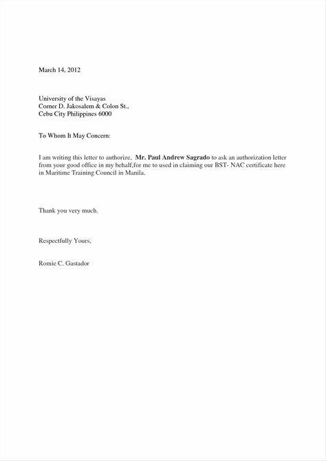 permit authorization permission letter template formal parental - permission letter
