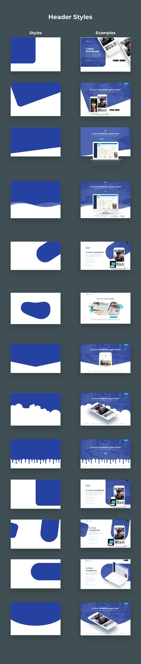 Limitless - Massive set of layouts and UI components for Sketch Preview