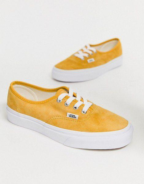 mustard color vans