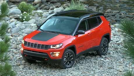 Jeep Compass Trailhawk Prelaunch Booking Started Jeep Trailhawk