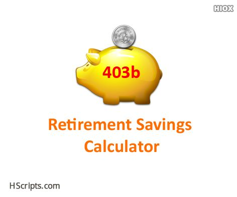 B Retirement Savings Calculator HttpsWwwHscriptsCom