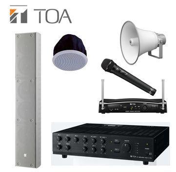 TOA, Ahuja, Bosch PA Public Address System Supplier Company