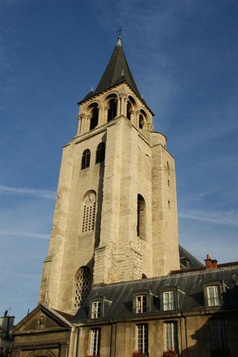 La Iglesia de Saint Germain des Prés es la iglesia más antigua de #París. Fue fundada como Basílica por el rey merovingio Childeberto en el s. VI para albergar reliquias y tumbas de reyes, por lo que fue la primera necrópolis real, aunque después de la Revolución estas tumbas desaparecieron. http://www.viajaraparis.com/lugares-para-visitar-en-paris/iglesia-de-saint-germain-des-pres-de-paris/ #turismo #viajar