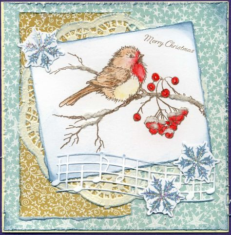 shabby chic snowbird