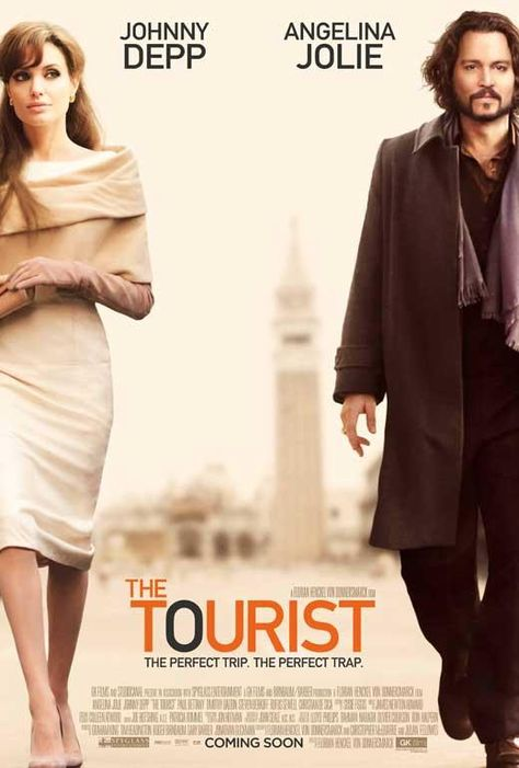 The Tourist 27x40 Movie Poster (2010)