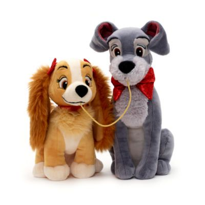Lady And The Tramp Valentine S Day Small Soft Toy Set Puppy Soft