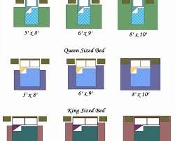 Rug Size Under Queen Bed