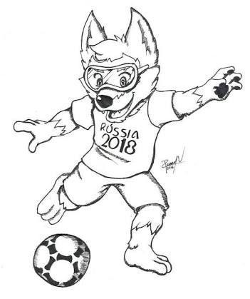 Resultado De Imagem Para Mascote Da Copa Do Mundo 2018 Nomes