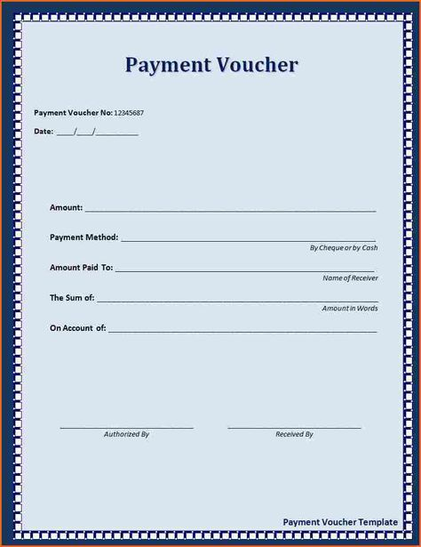 Click on the download button to get this Payment Voucher Template - cash payment voucher format
