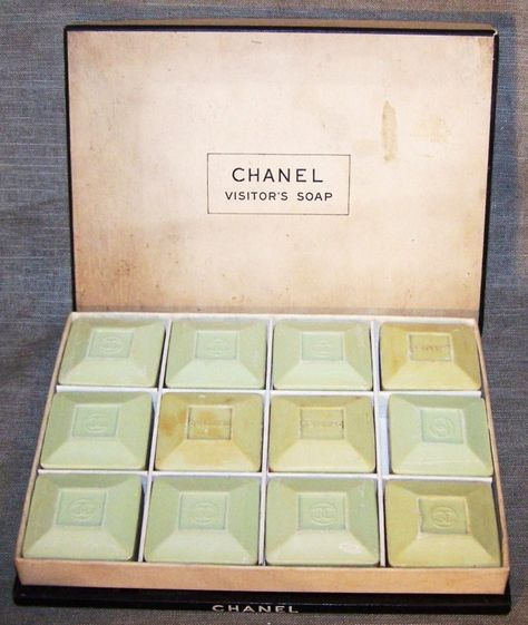 Vintage Box of CHANEL Visitor's Soaps - UN-USED | eBay