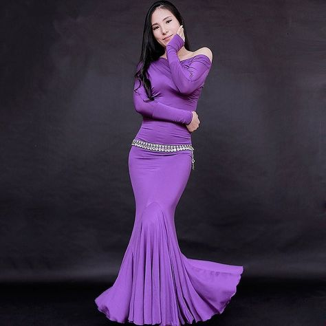 Novelty & Special Use Belly Indian Eastern Hair Swinging Baladi Dance Costumes Bellydance Oriental Dancing Costume Robe Bra Belt Skirt Dress Wear