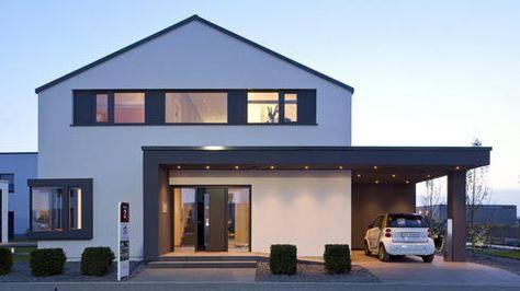 Garage mit carport modern  Die besten 25+ Garage mit carport Ideen auf Pinterest | Carport ...