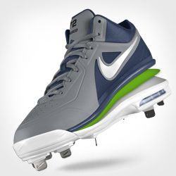 all white youth baseball cleats nike tech