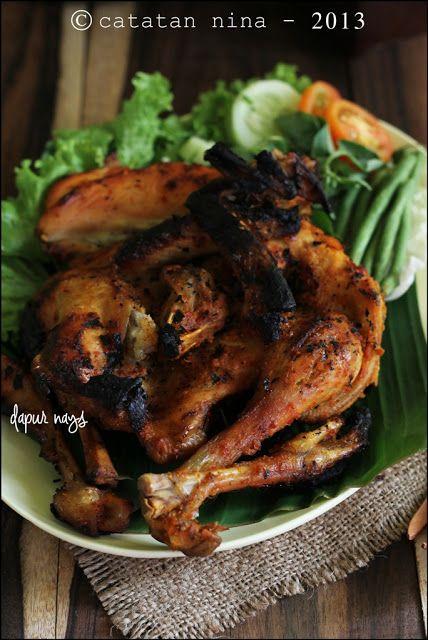 Ayam Bakar Nanangan Resep Masakan Indonesia Resep Ayam Makanan Ringan Sehat