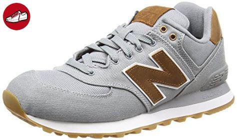 New Balance , Herren Sneaker grau grau, Grau (Grey), 43 ...