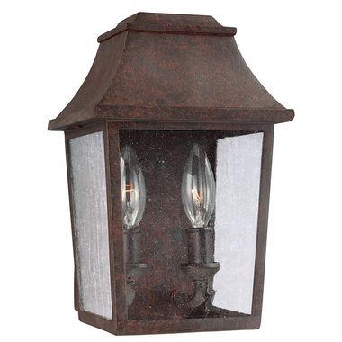 Feiss Patina Copper Outdoor Light Estes