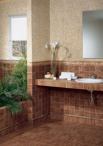 Pin De Daina Carriera En Bathroom Banos Rusticos Azulejos Bano