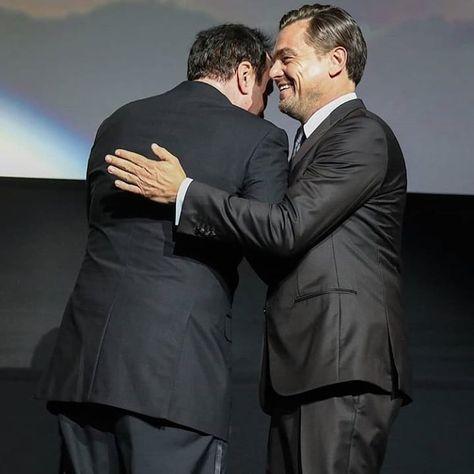 "Leonardo DiCaprio 🌱♻️ on Instagram: ""New pic of Leo and Quentin 💞 #dicaprio #leodicaprio #leonardodicaprio #onceuponatimeinhollywood"""