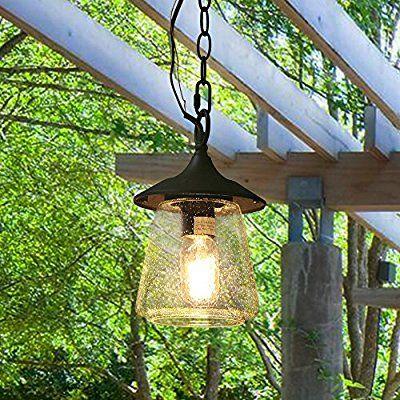 Log Barn 1 Light Outdoor Hanging Lights Traditional Porch Patio Pendant Lighting Amazon Co Outdoor Hanging Lights Hanging Porch Lights Porch Light Fixtures