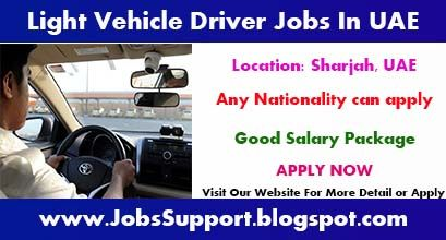 Indeed Driving Jobs Light Vehicle Driver Jobs In Sharjah Uae Driving Jobs Driver Job Job