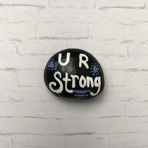 paintedstonesofinstagram Rock drop! ⠀...