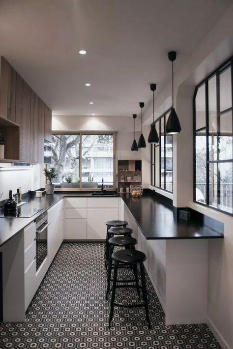 33+ Gorgeous Modern Scandinavian Kitchen Ideas #gorgeouskitchen #kitchendesign #kitchenideas » Home Alone