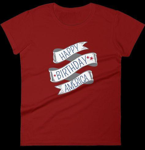 Happy Birthday America Tee