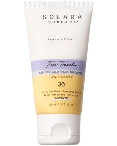Solara Suncare Time Traveler Ageless Daily Face Sunscreen Spf 30 Daily Sunscreen Face Sunscreen Best Spf