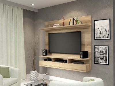 Floating Tv Wall Unit Vela Sahara 1 Tone Ideias De Decoracao