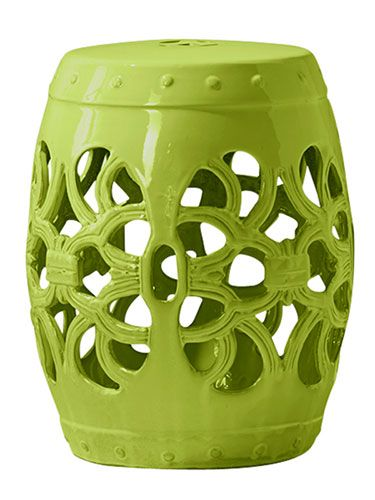 Magnificent 30 Ways To Add Color To Your Home This Month Ceramic Stool Uwap Interior Chair Design Uwaporg