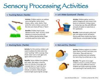 Summer Occupational Therapy Sensory Skills Summer Explorer Sensory Processing Activities Sensory Occupational Therapy