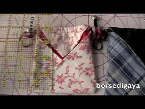 Borsa origami - YouTube