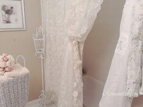 Shabby Chic Style Romantik Ev Banyo Dekorasyonu Rachel Ashwell Simply Towels Romant