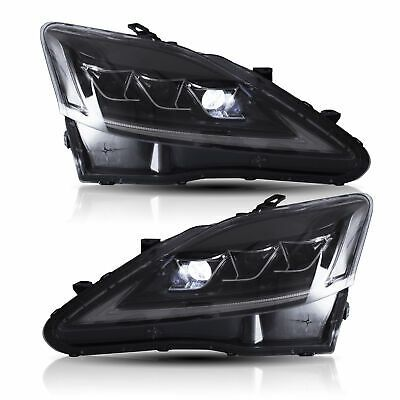 Details About Clear Full Led Headlights For 2008 2014 Lexus Is F Front Lights Assembly In 2020 Led Headlights Lexus Headlights