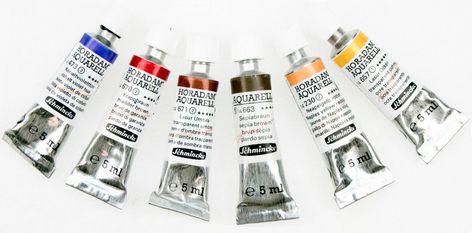 Schmincke Horadam Artists Watercolour Skin Tones Mixing Set 6 X