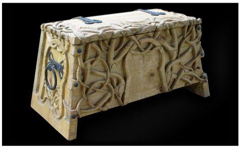 Viking chest from http://nordmannsheim.de/