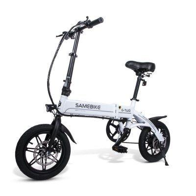 Samebike Yinyu14 Smart Folding Bicycle Moped Electric Bike E Bike