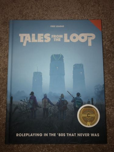 Tales From The Loop Board Game : tales, board, Other, Playing, Games, 1183:, Modiphius:, Tales, (Core, Rulebook), ONLY:, #eB…, Roleplaying, Game,, Roleplay,