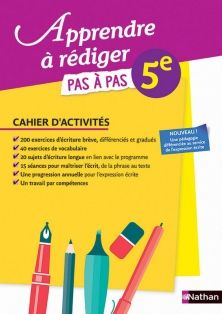 Apprendre A Rediger 5e Cahier De L Eleve 9782091716466
