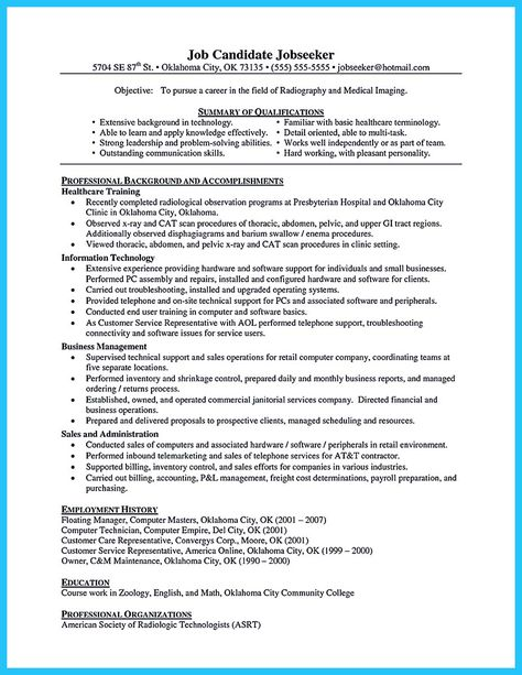 cool How to Make Cable Technician Resume That Is Really ...