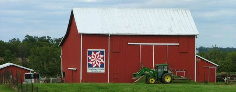 Do you know what geocaching is? If so, you may find these barns pretty interesting...