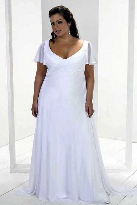 Informal Wedding Dresses Wedding Dresses 28w 44w Plus Size