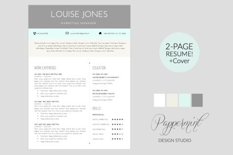 Resume 10 - A4 Powerpoint Format by PitchLabs on - interior decorator resume