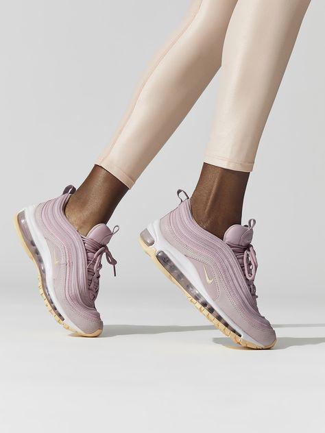 Women's Nike Air Max 97 Premium 917646 500 Plum ChalkLight