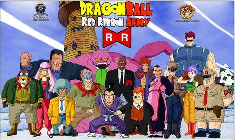 The Red Ribbon Army Imagenes De Goku Dragones Y Dragon Ball