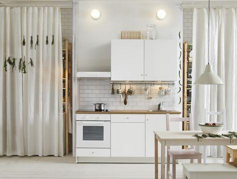 Ikea Modulaire Keuken : Knoxhult keuken wit Кухня kitchen cabinets home decor en kitchen