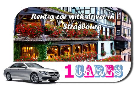 Rent a car with driver in Strasbourg | Hire a car with chauffeur in Strasbourg